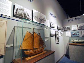 Door County Maritime Museum Model Display