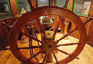 Take the Wheel at the Door County Maritime Museum