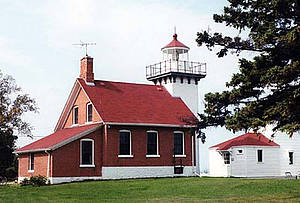 Sherwood Point Lighthouse Door County