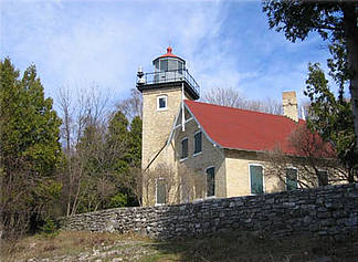 Eagle Bluff Lighthouse Fish Creek