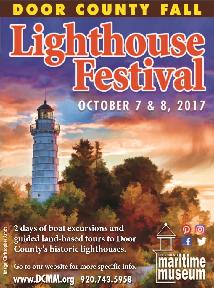 Remarkable Fall Lighthouse Flyer Door County Maritime Museum Download Free Architecture Designs Rallybritishbridgeorg