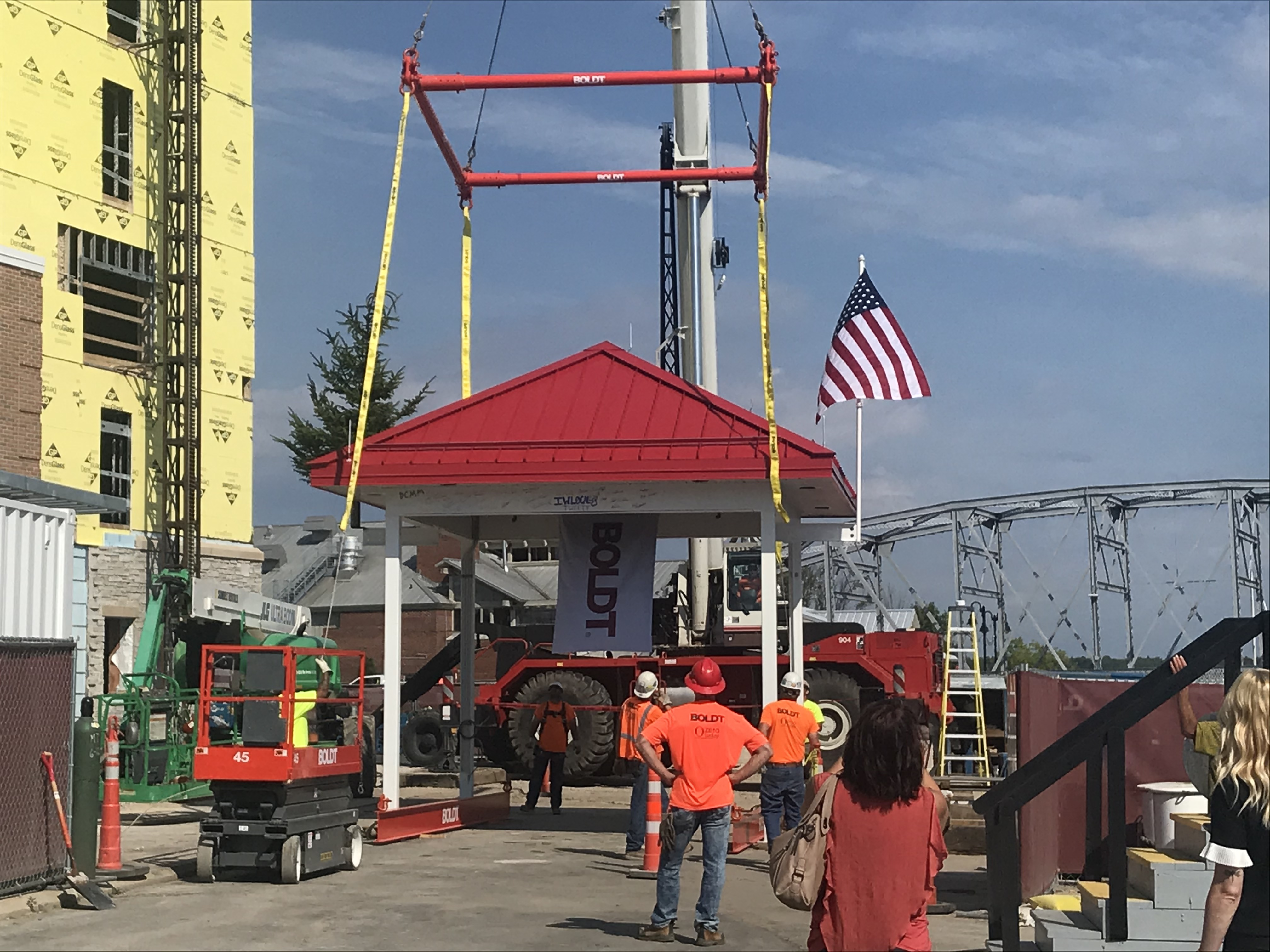Topping Off event - July 2, 2020